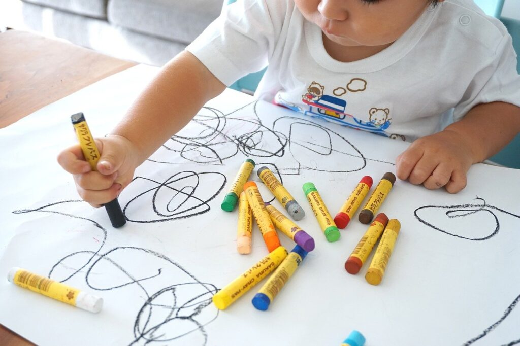 oekaki, drawing, children